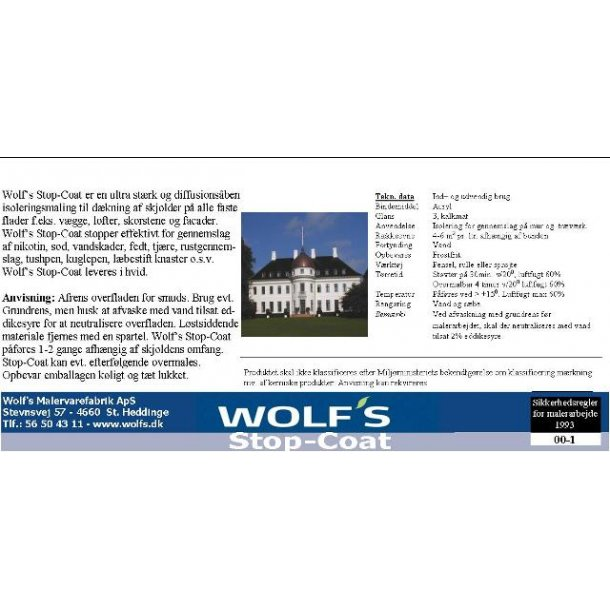 Wolf's Stop-Coat.